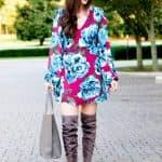 Floral Fall Dress