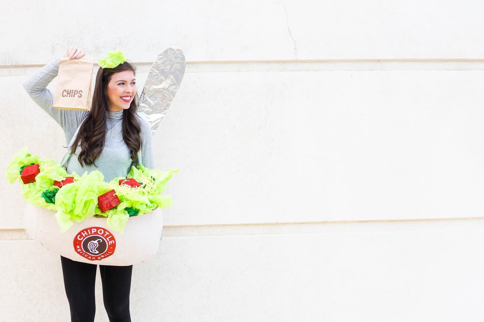 Halloween Chipotle Costume DIY