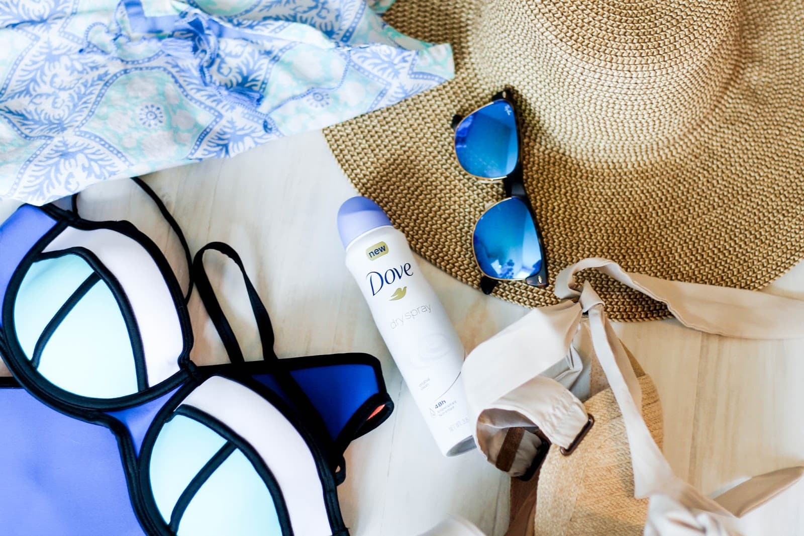Beach Weekend Packing Essentials with Dove