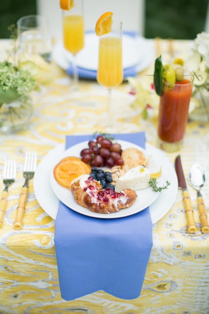 Wedding Brunch Styled By Whiskey White Events Pretty In The