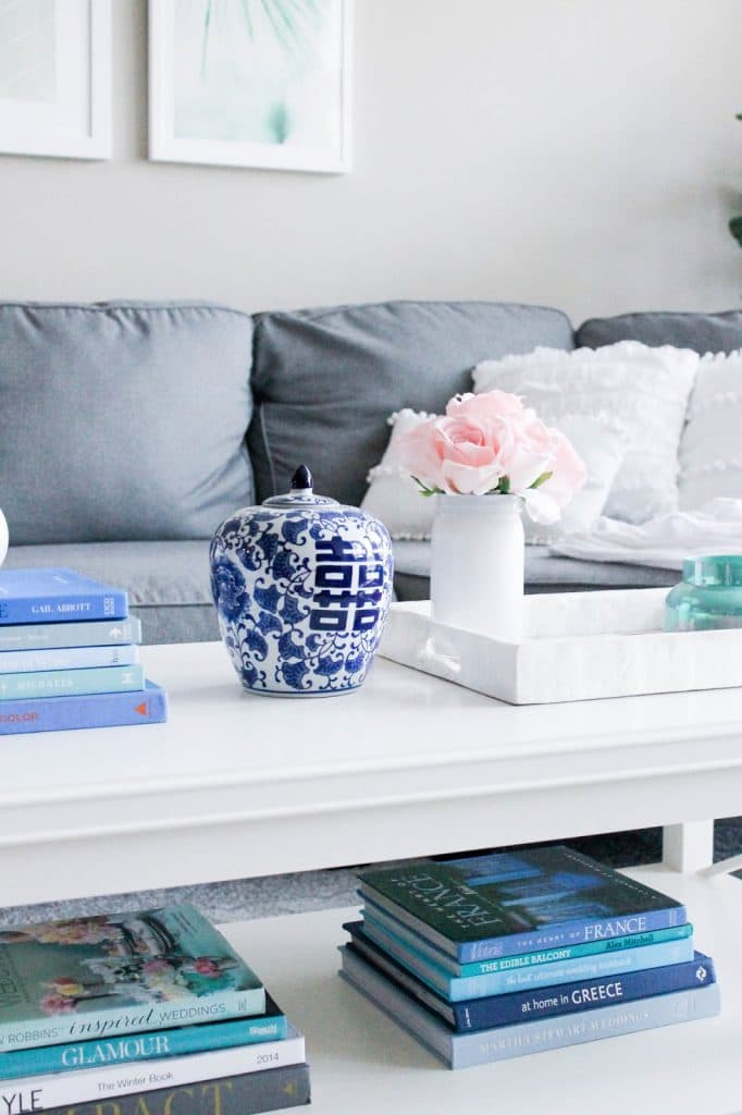 A Peek Into Our Living Room + Gallery Wall - Pretty in the ...