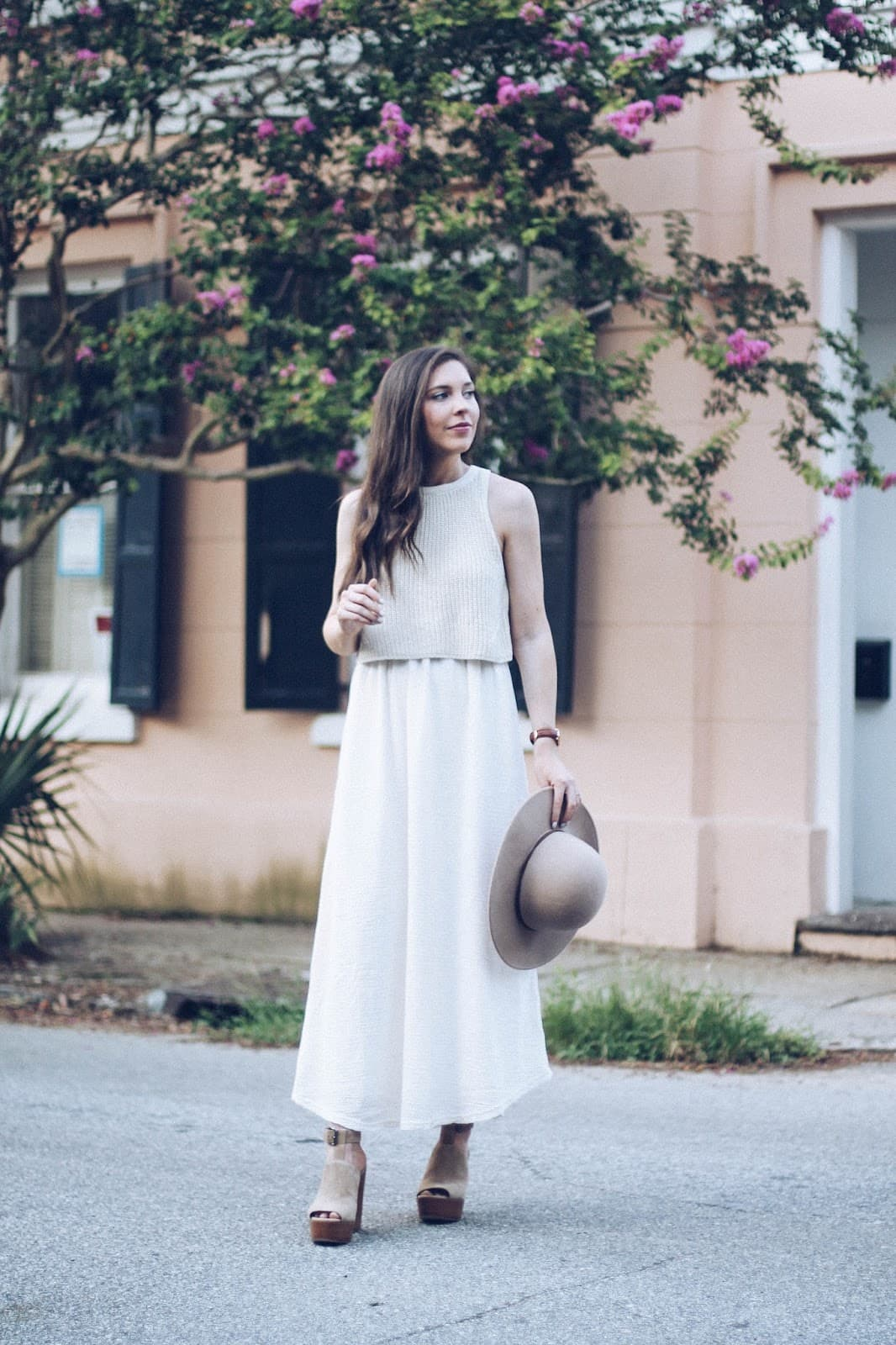 Layered Sandstone Maxi in Charleston