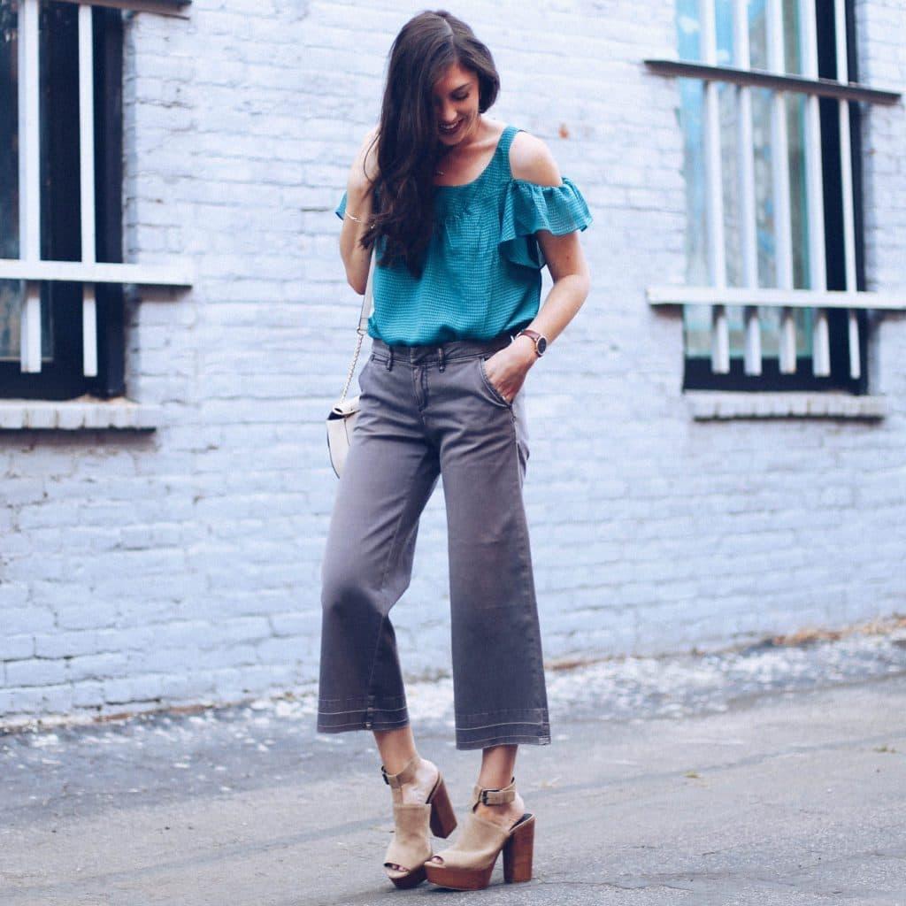 Thursday Trend: Cropped Wide-Leg Pants
