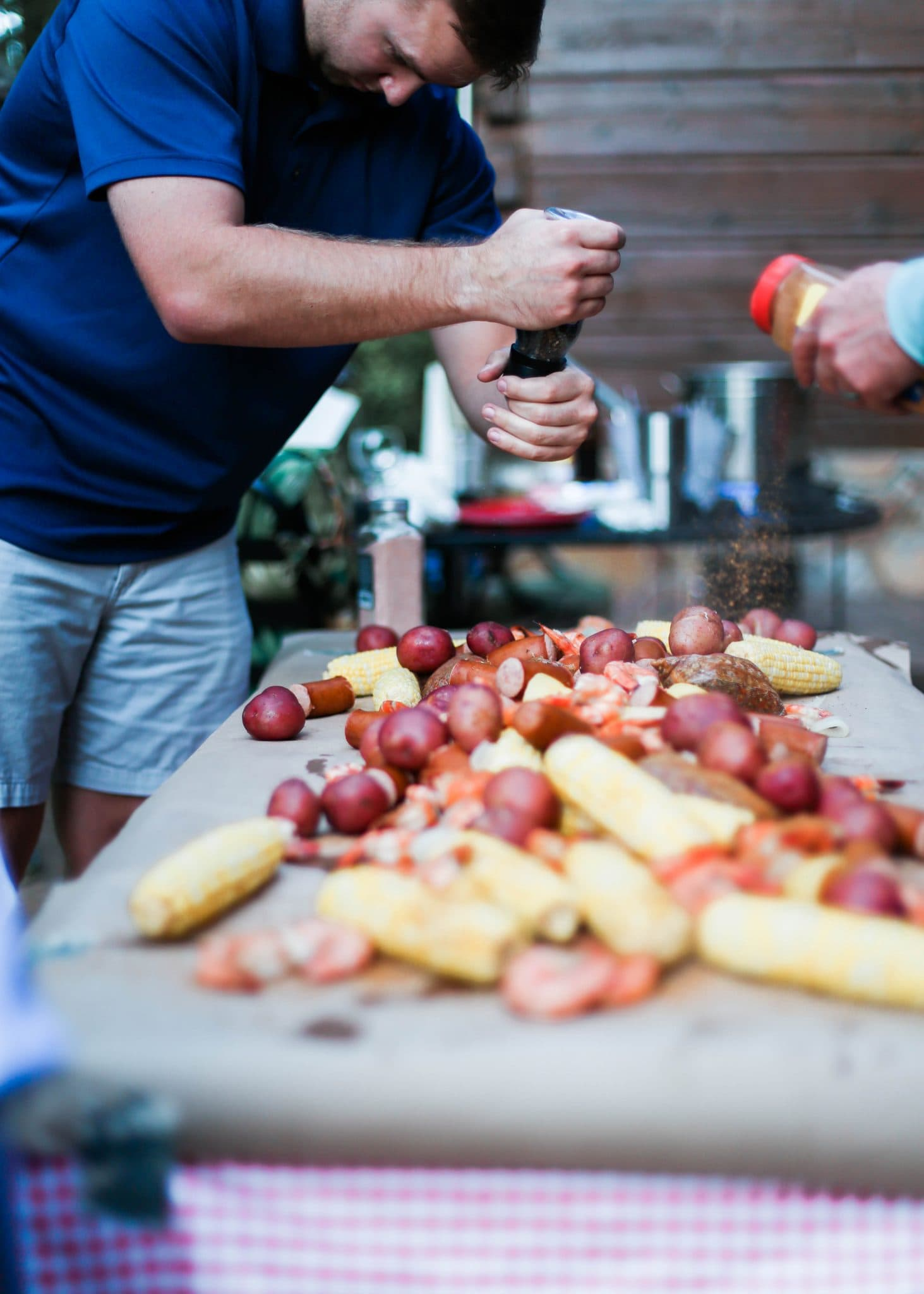 ow country boil recipe and instructions, lowcountry boil, pretty in the pines blog