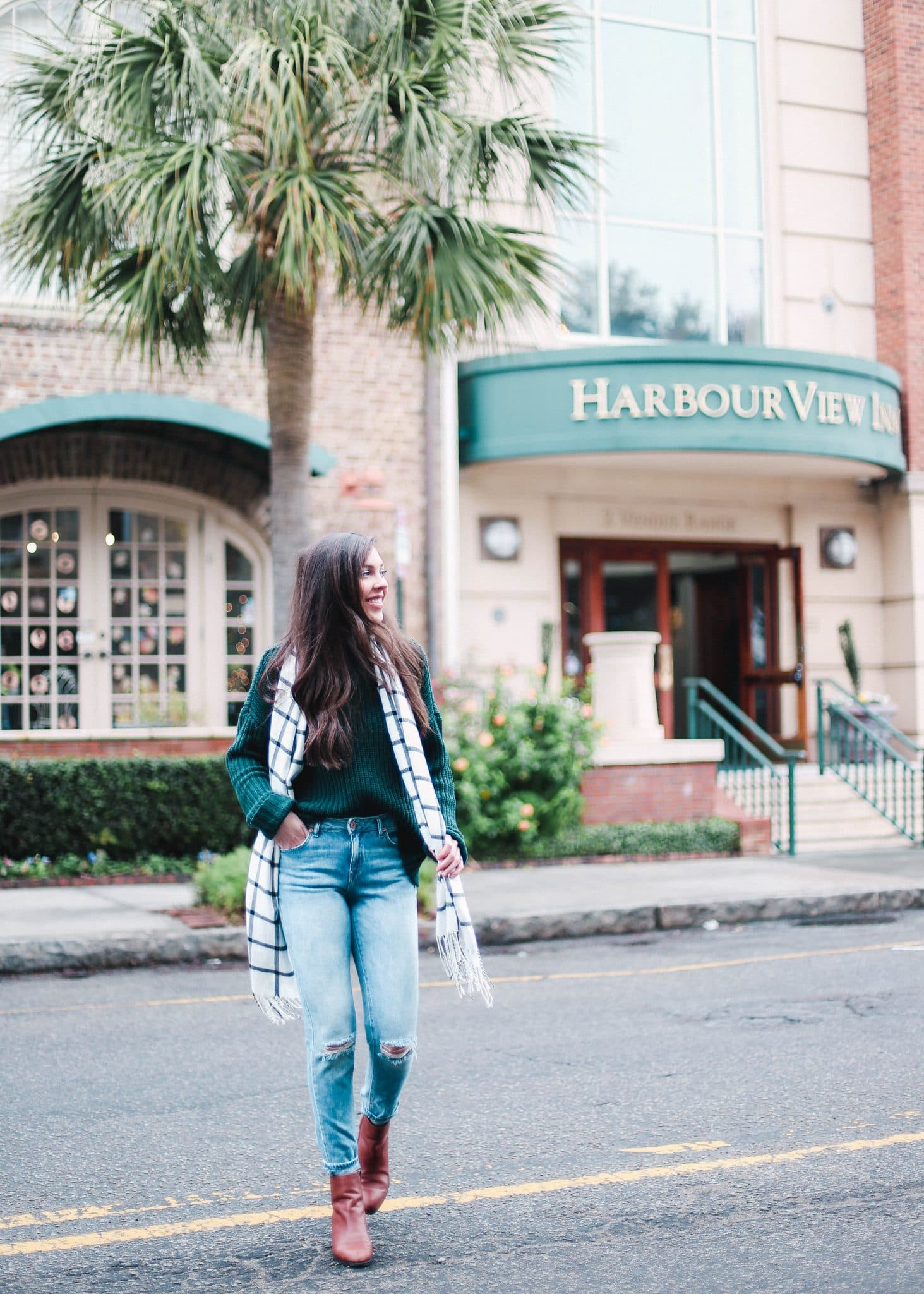 harbourview inn, charleston downtown hotel, pretty in the pines, travel blog