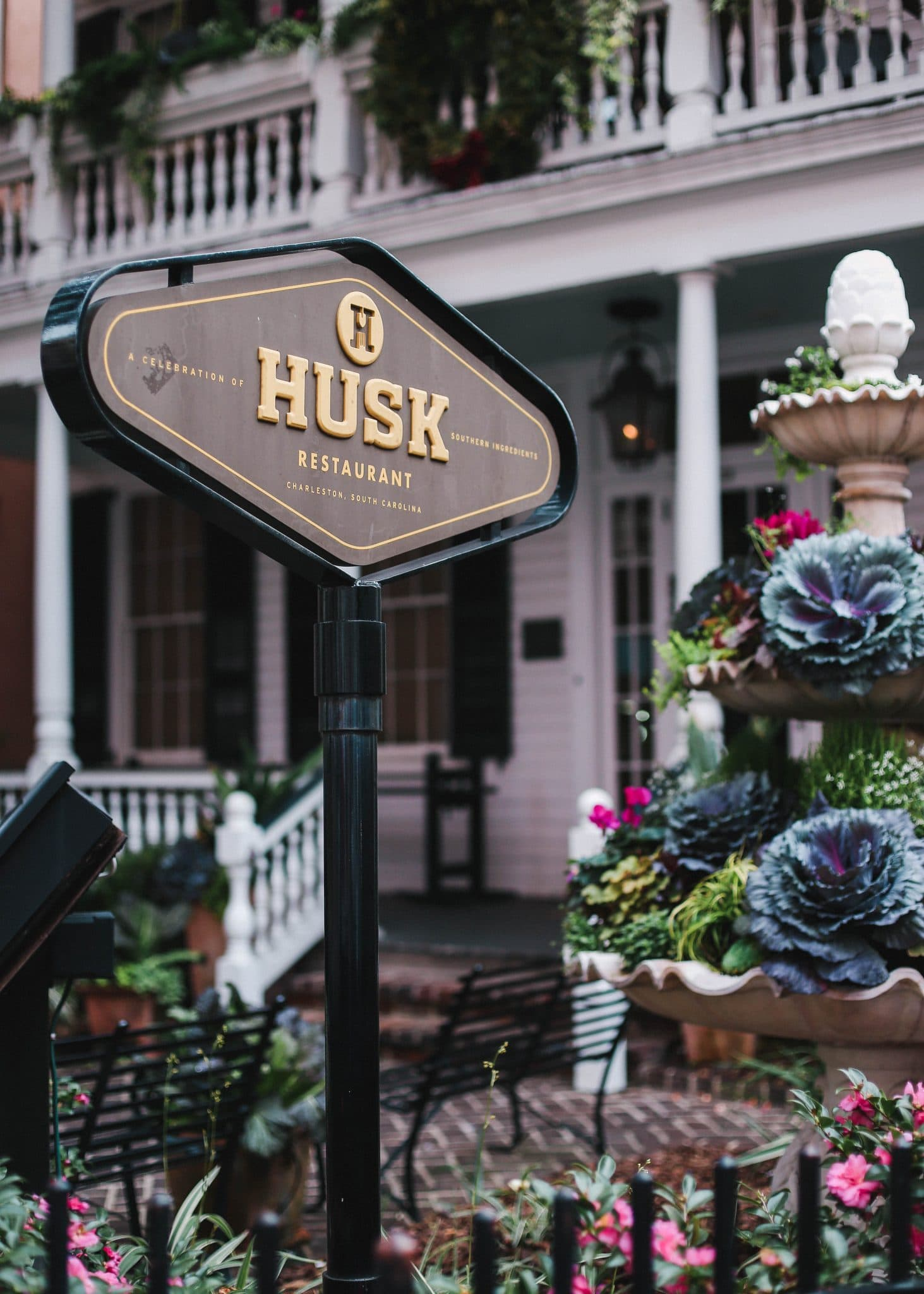 husk restaurant charleston, pretty in the pines blog, travel blog