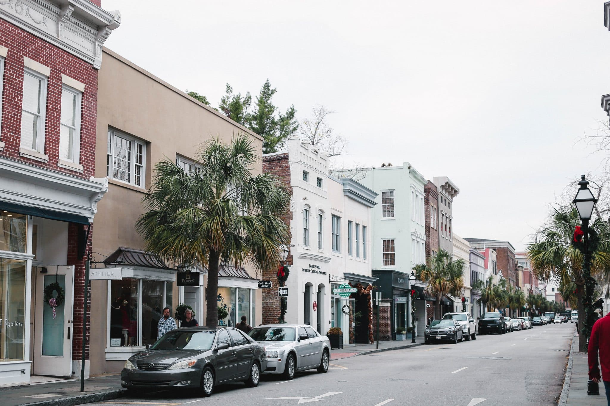 downtown charleston shopping, pretty in the pines