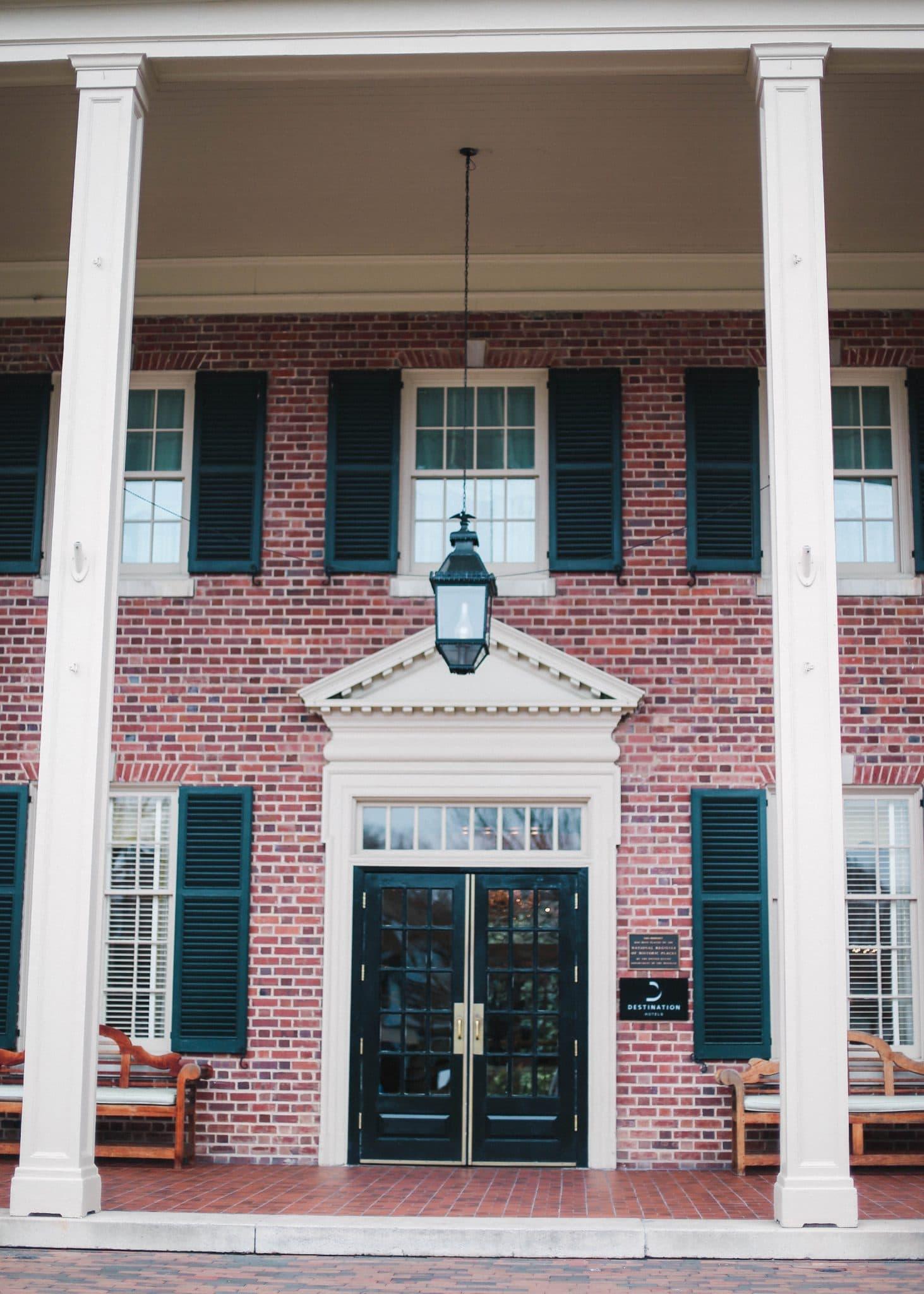 The Carolina Inn Chapel Hill, Chapel Hill Luxury Hotel, Pretty in the Pines Blog, Lifestyle and Fashion Blogger North Carolina