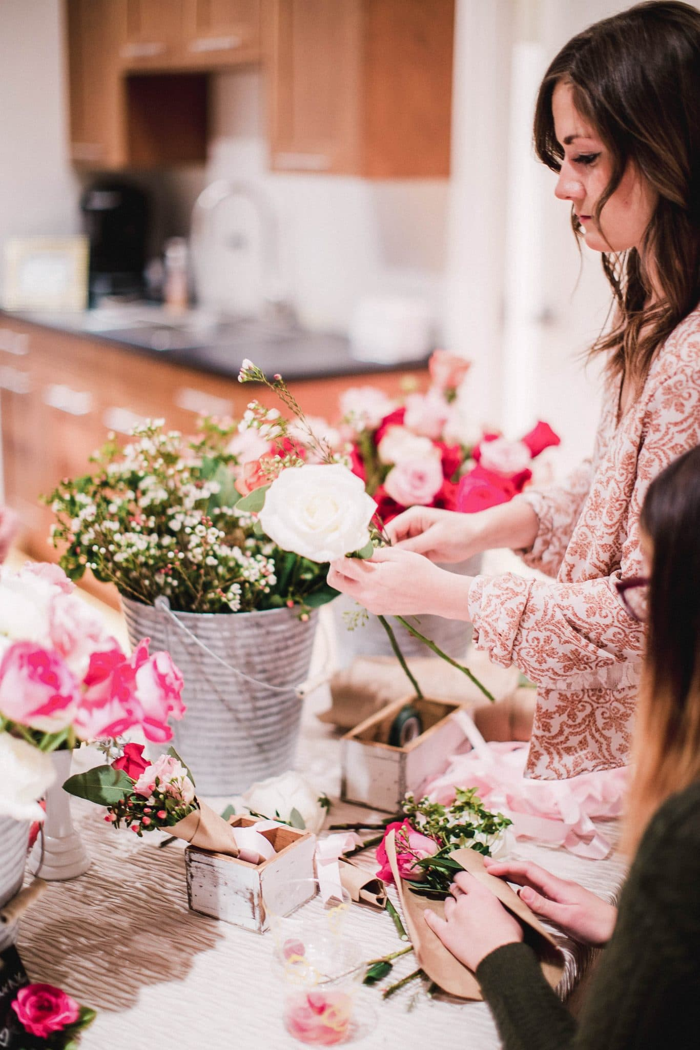 Valentine's Day Party Ideas, Pretty in the Pines