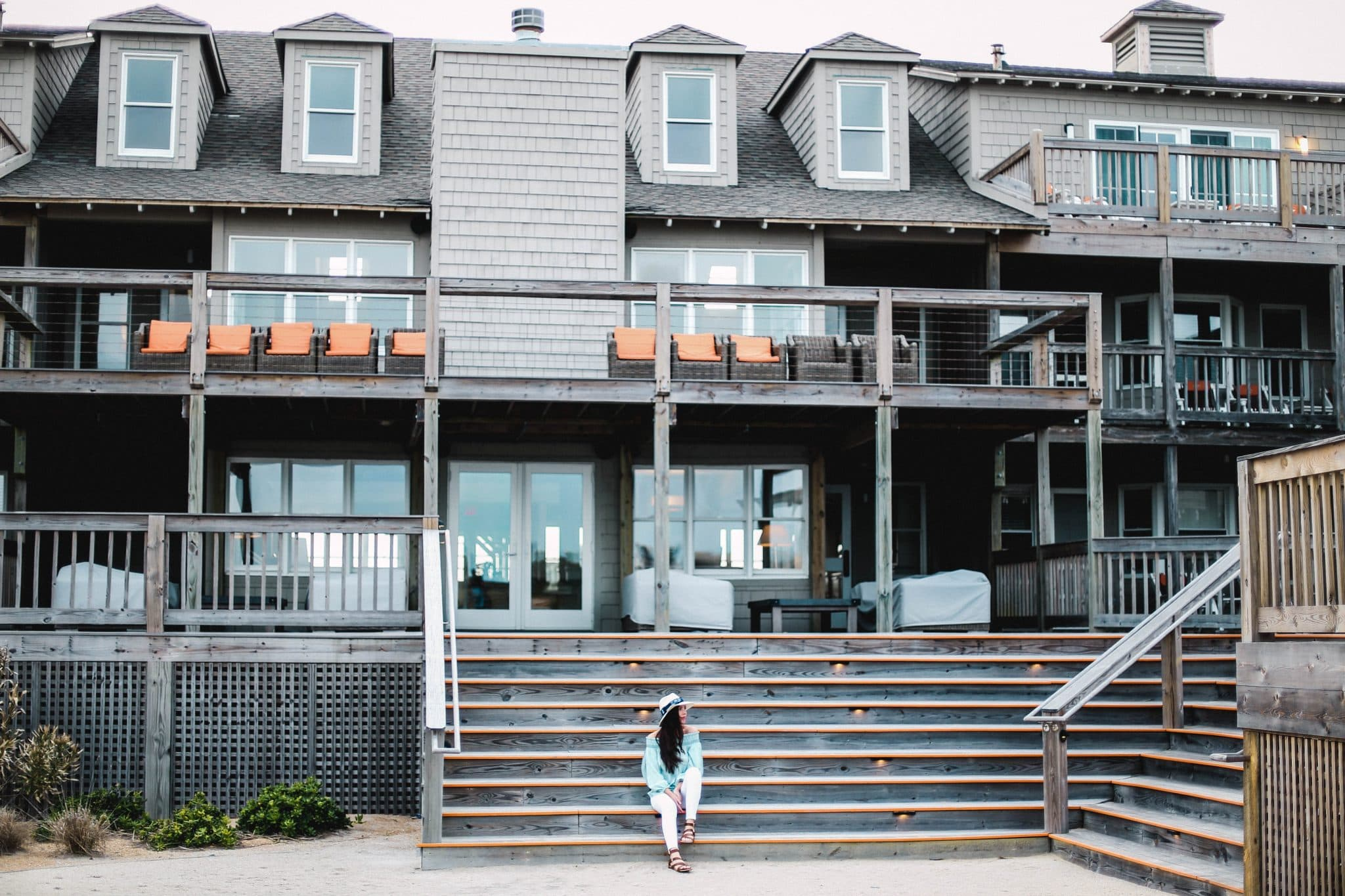 sanderling resort review, hotel blogger north carolina, pretty in the pines