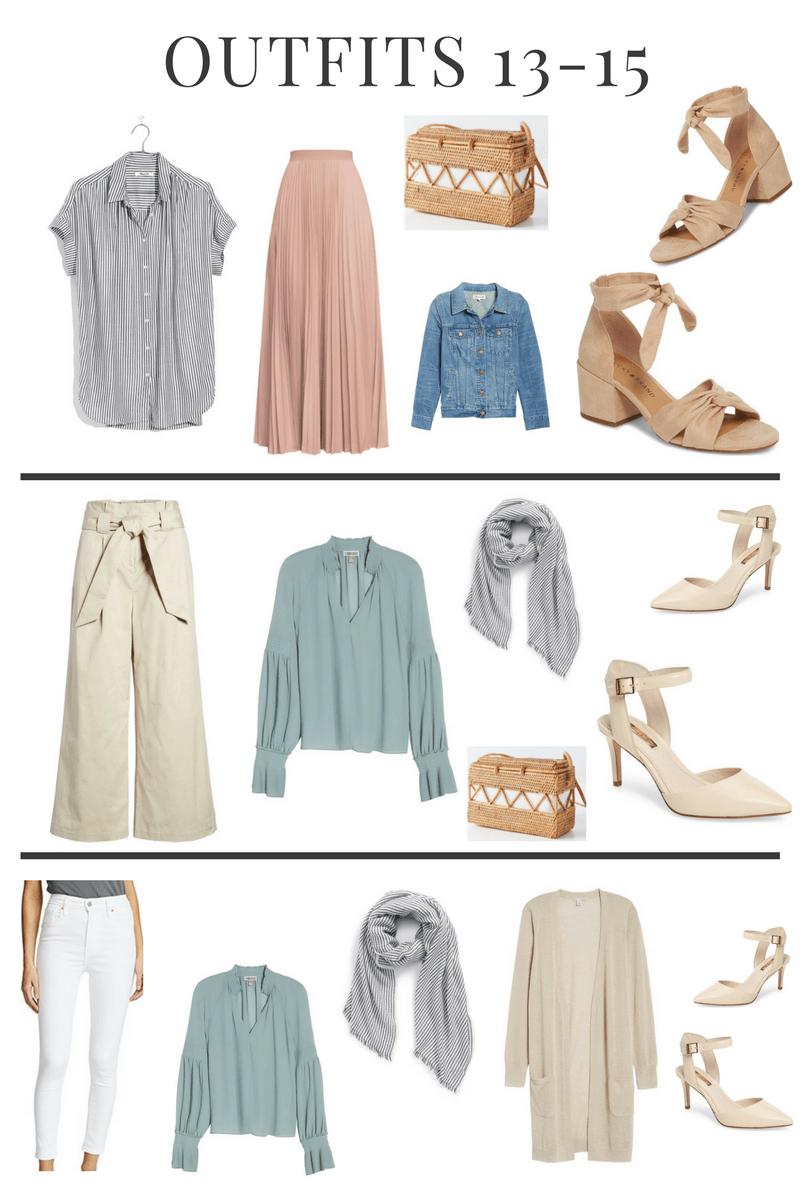 Spring Capsule Wardrobe: Building A Spring Capsule Wardrobe With 21 Pieces