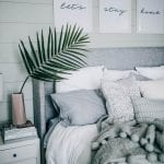 grey white bedroom decor pretty in the pines