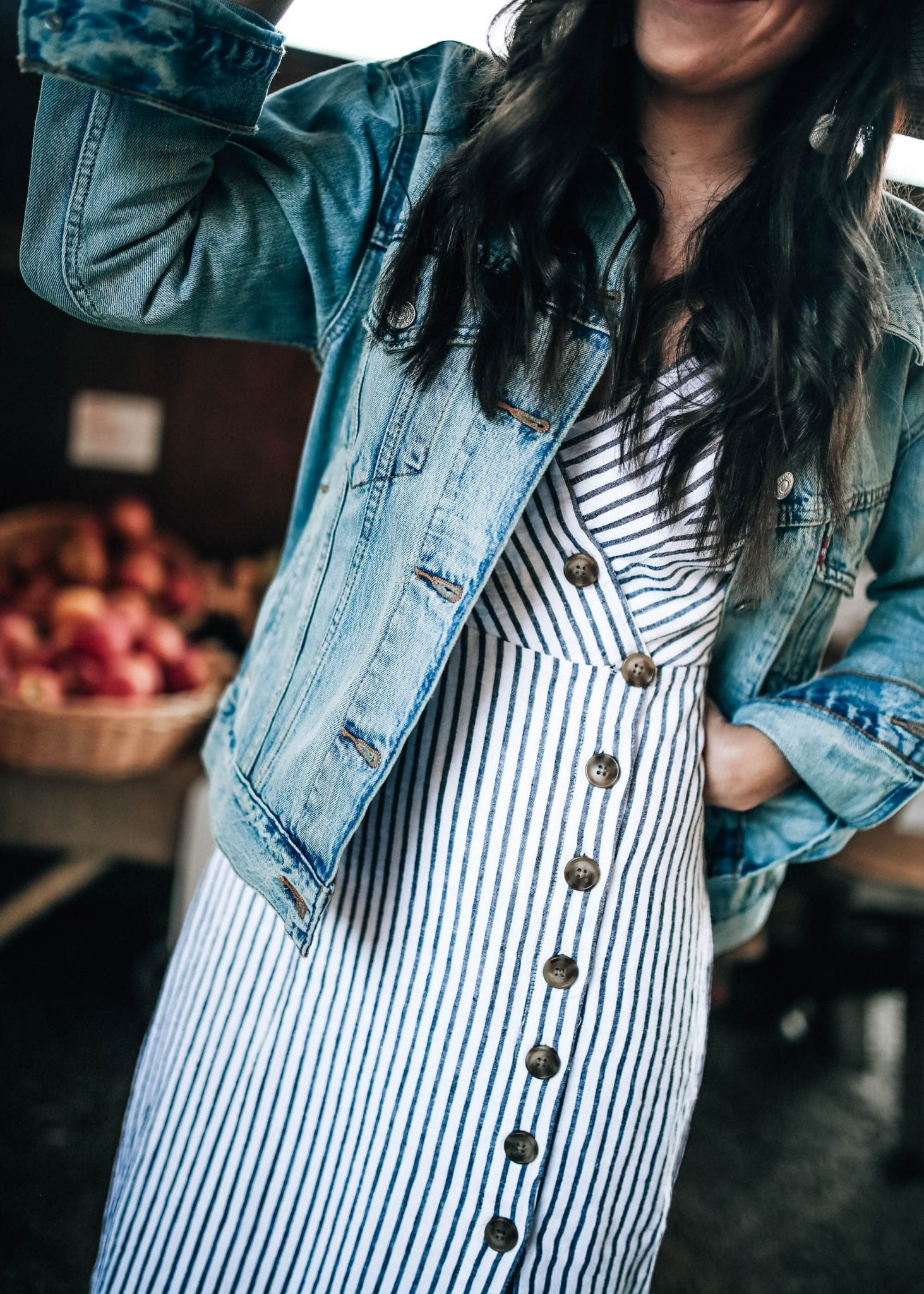 Grocery Shopping Organization and Urban Outfitters Striped