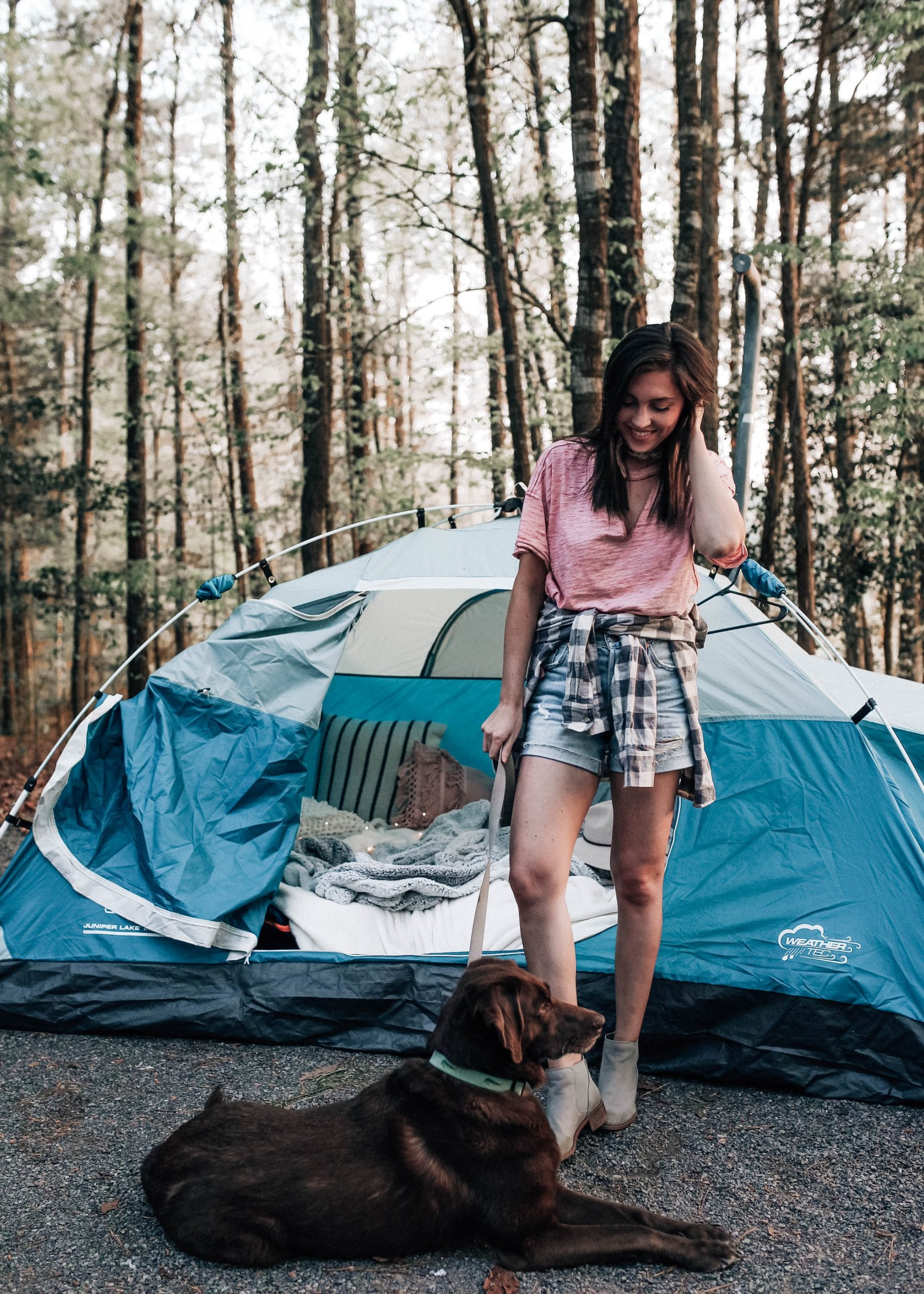 Camping Weekend + 5 Small Changes To Help The Environment