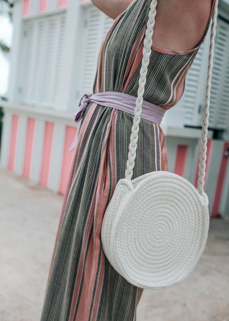 Tropical Striped Jumpsuit