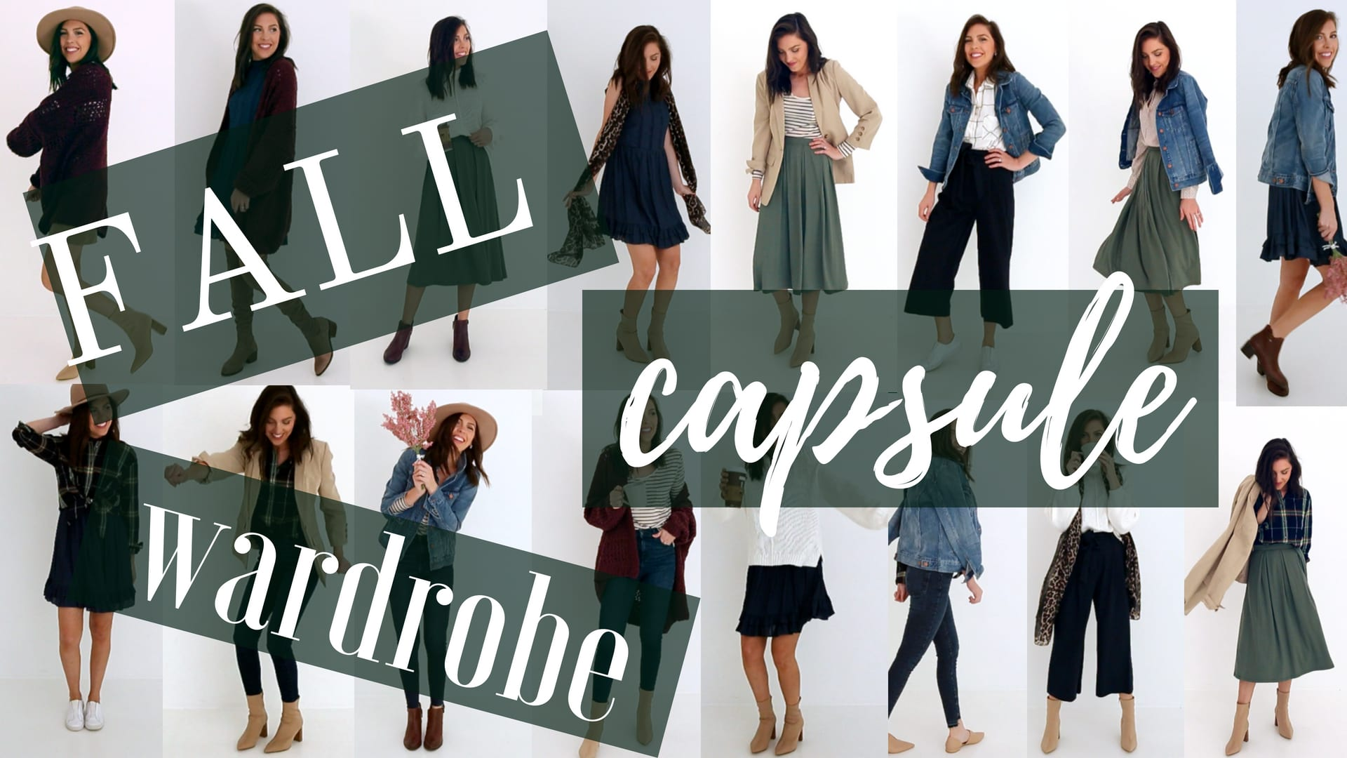 2b86283c5c8 Fall Capsule Wardrobe (19 Pieces, 45 Outfits) - Pretty in the Pines ...