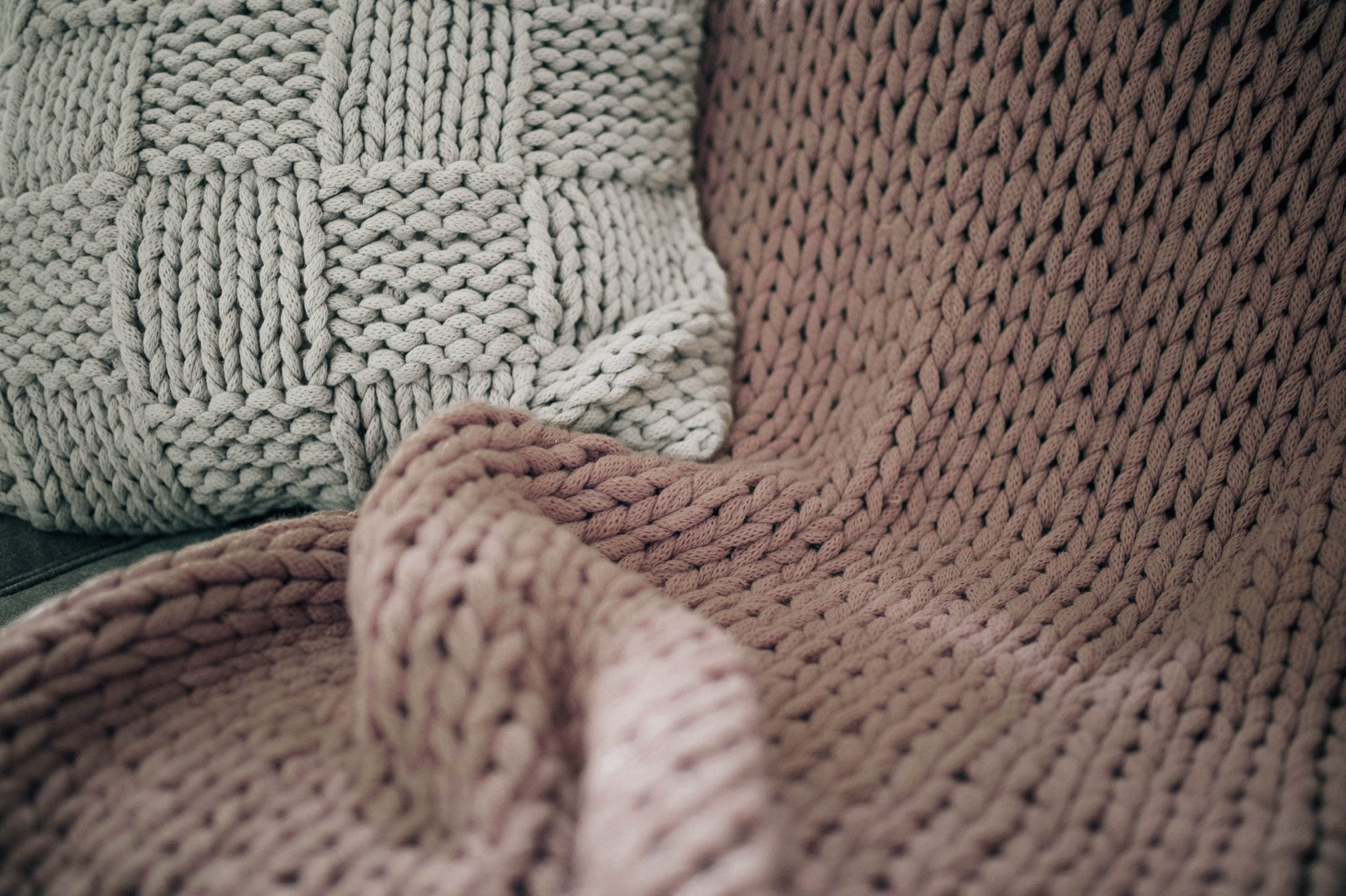 chunky knit blanket nordstrom