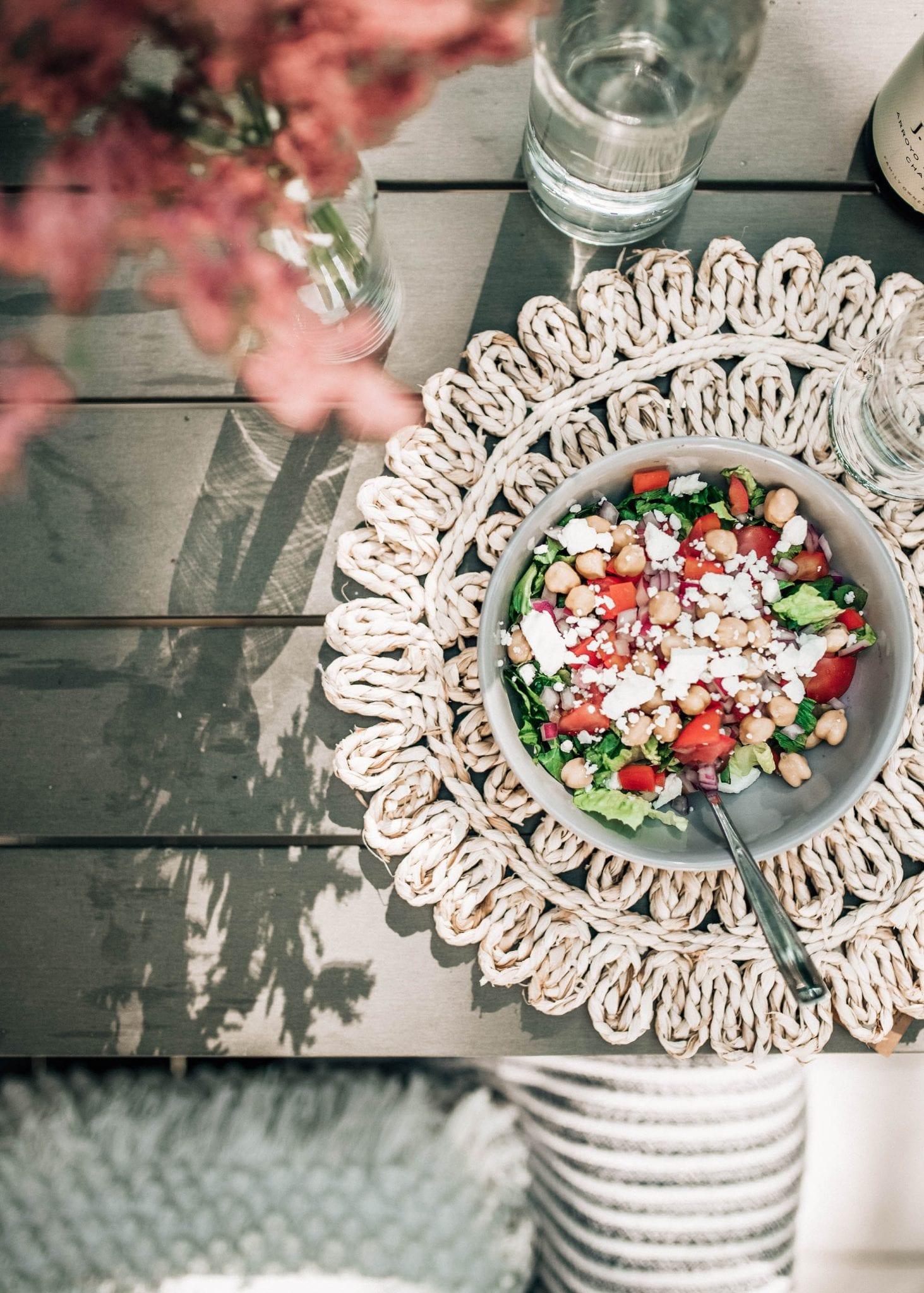 healthy greek salad recipe