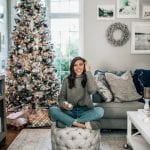 at home christmas blogger pretty in the pines