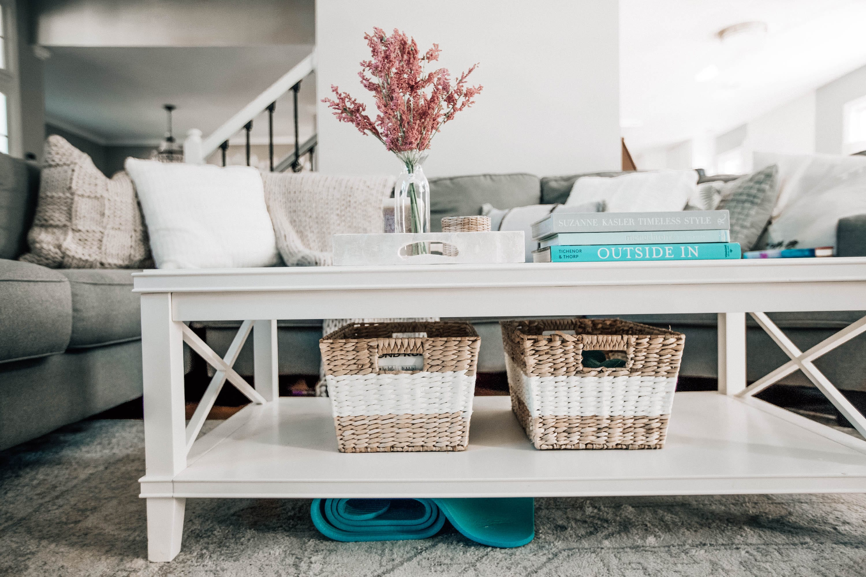 Ways To Organize Your Home With Baskets Pretty In The Pines North Carolina Lifestyle And Fashion Blog