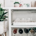 spring bar cart entertaining