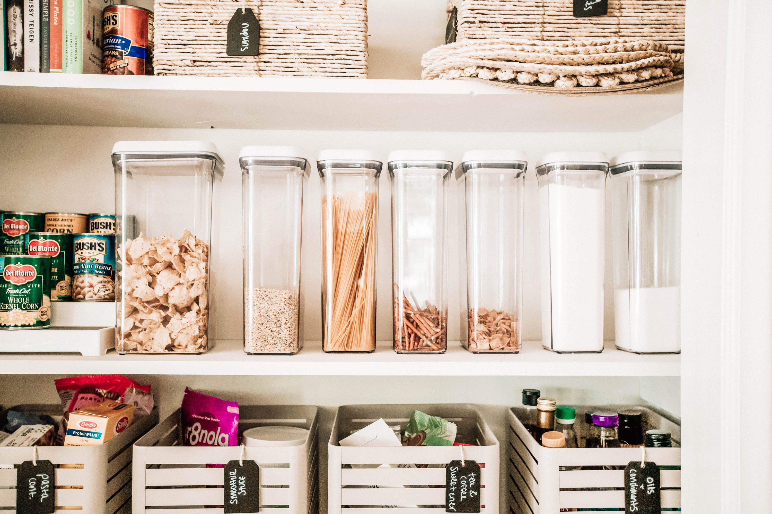 Our Pantry Organization Makeover