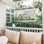 DIY gutter planters