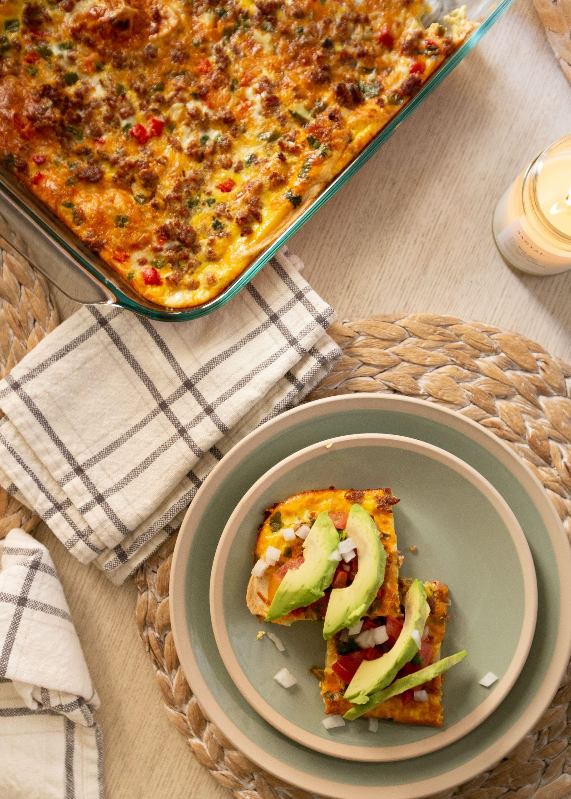 Two Favorite Breakfast Casseroles