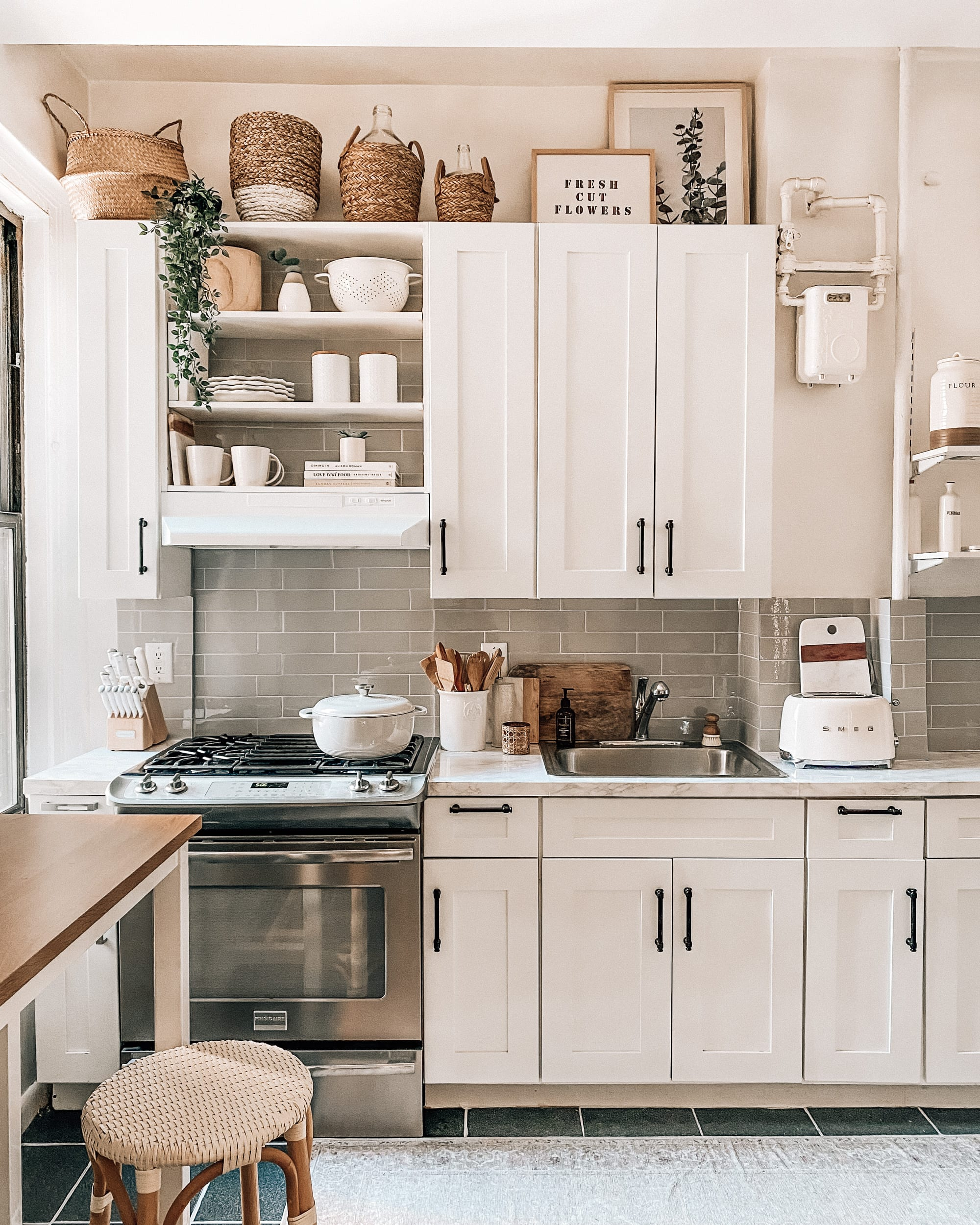 Our Rental-Friendly Kitchen Makeover Under $500