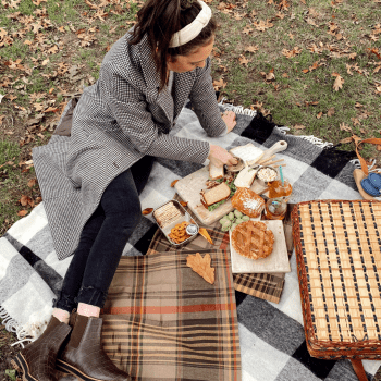 nyc fall central park picnic