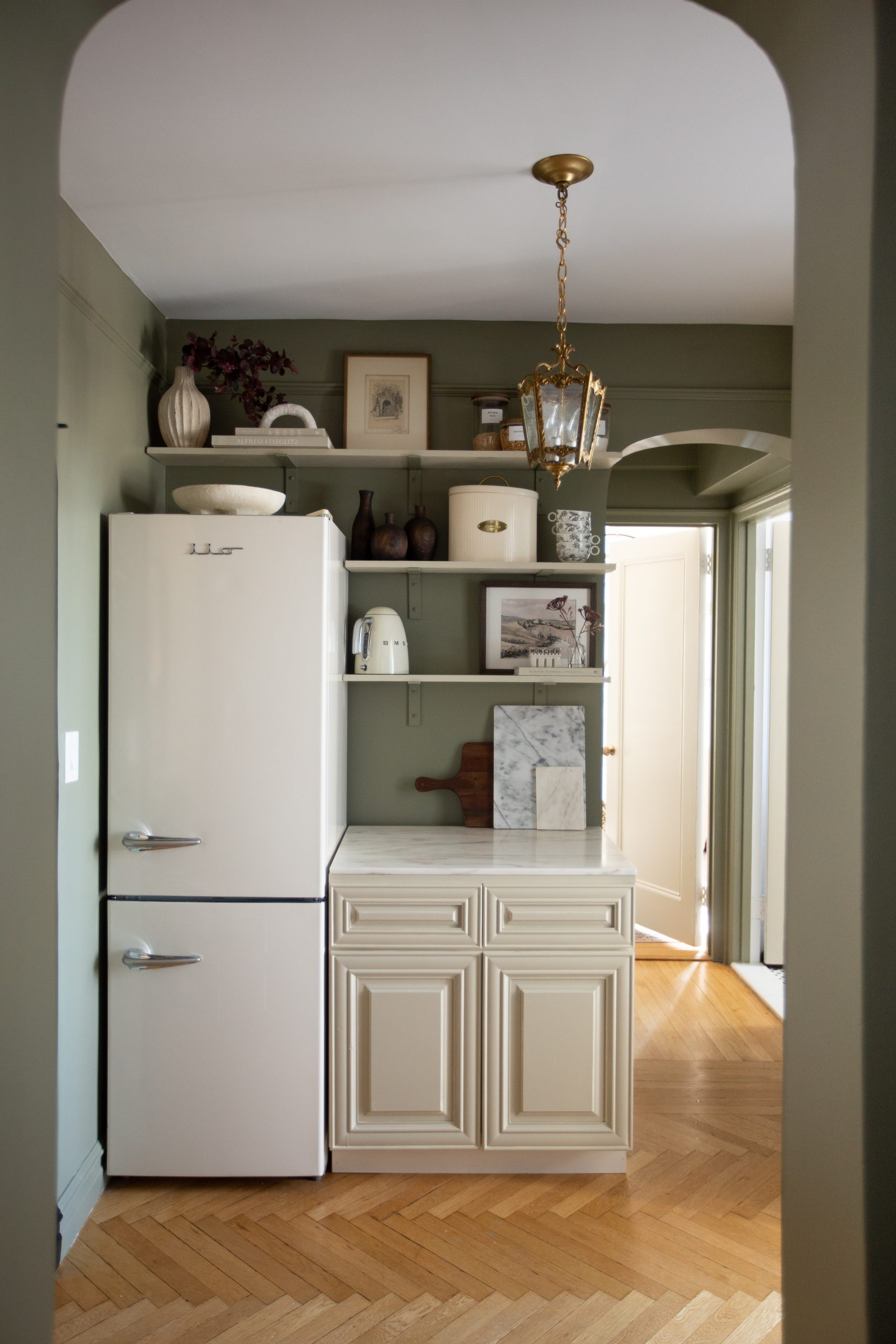 Selecting Our Kitchen Paint Color